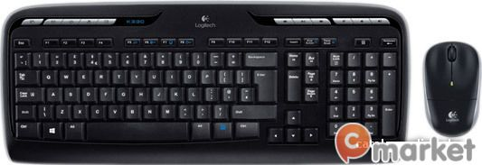 Клавиатура + мышь Logitech Wireless Combo MK330