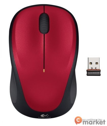 Мышь Logitech Wireless Mouse M235