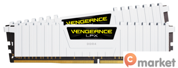 Оперативная память Corsair Vengeance LPX 2x16GB DDR4 PC4-24000 [CMK32GX4M2B3000C15W]