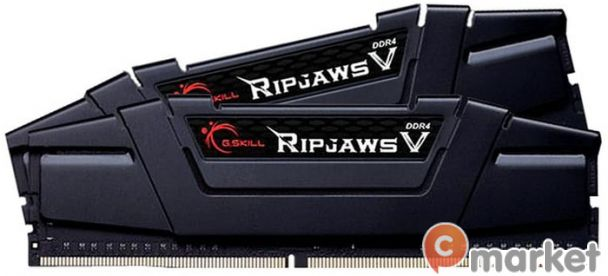 Оперативная память G.Skill Ripjaws V 2x32GB DDR4 PC4-28800 F4-3600C18D-64GVK