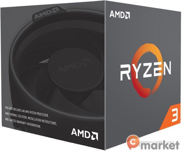 Процессор AMD Ryzen 3 1200 (BOX)
