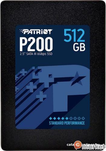 SSD Patriot P200 512GB P200S512G25