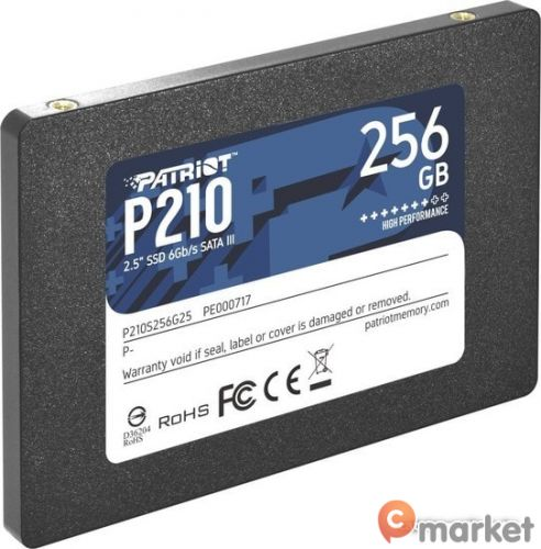 SSD Patriot P210 256GB P210S256G25