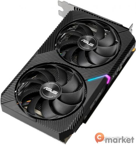 Видеокарта ASUS Dual GeForce GTX 1660 Super Mini OC edition 6GB GDDR6