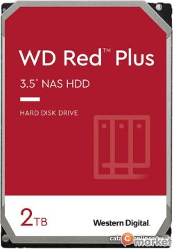 Жесткий диск WD Red Plus 2TB WD20EFZX
