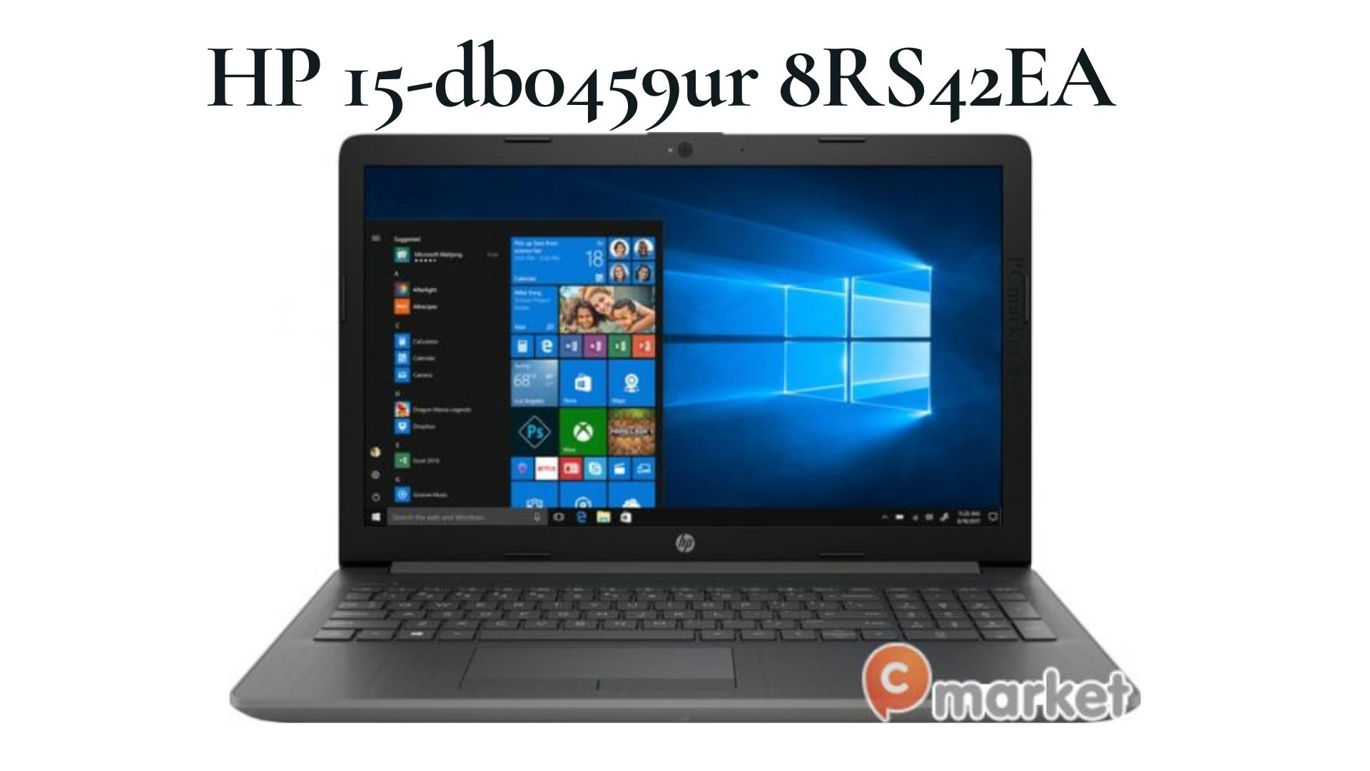 Ноутбук HP 15-db0459ur 8RS42EA